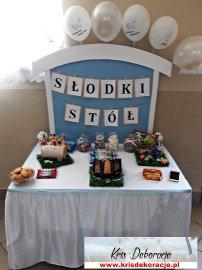 słodki stolik