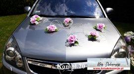 dekoracja auta na ślub