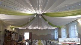 Dekoracja sali w Kłodawej