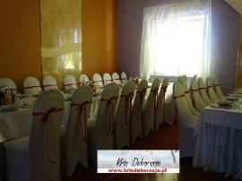 pokrowce na krzesła sala Moderówka